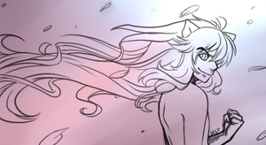 Inuyasha sketch by WanderingSketchPad