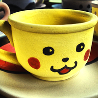 Pikachu Tea Cup by hithereflamingo