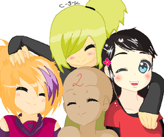 Group Photo -Collab- by AwkwardMoosey