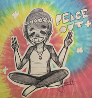 Peace out, girl scout. by ThatCreeperNextDoor