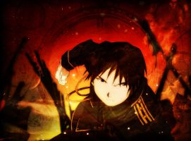Roy Mustang Skies by EveningAlchemist