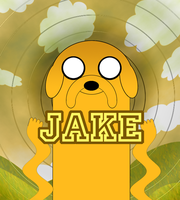 Adventure Time - Jake by Memo1990