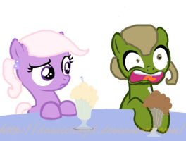 Filly me and cousin. by DassieDazel