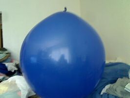 blue 36 inch mystery  brand balloon by billoon45