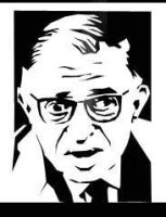 JEAN PAUL SARTRE by tonykartun