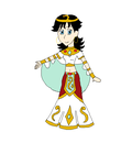 Tetra Houseline Egyptian Princess Outfit by airbornewife71