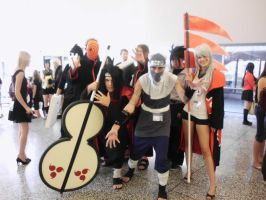 Akatsuki Group Cosplay by Sinta54