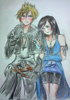You're Arms on Me- Cloud and Tifa AU by caelestissomnium