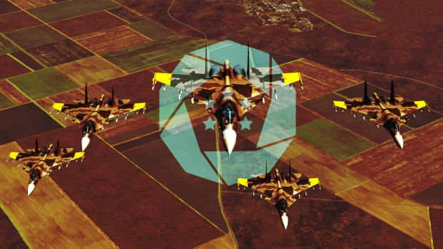 Yellow Squadron Wallpaper 2 / Ace Combat by BillyM12345