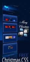 Merry Christmas II CSS by DigitalPhenom