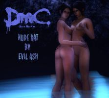 Evil Ash's Nude Kat For GMod by Rastifan