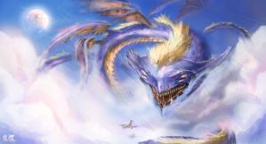 Cloud Dragon by IvanChanCL