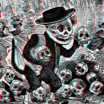 Alley Cat Calavera 3-D conversion by MVRamsey