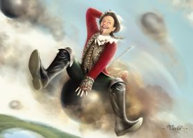 Baron Munchausen by VarLa-art