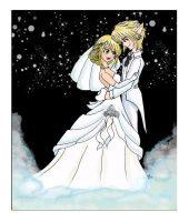 LucyxLink wedding request by Silver-the-kid