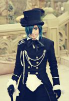 Ciel Phantomhive Black Butler by CosPlayJG