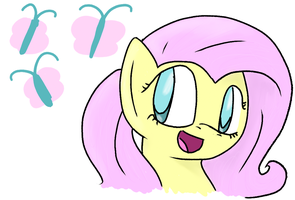 Fluttershy by TheSilverPie