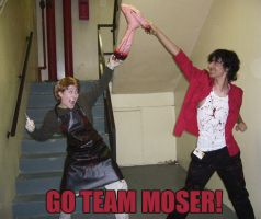 Go Team Moser +Spoiler Alert+ by four-leaf-charm