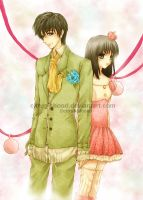 miracle tree : Tam and Sugar by citrus-shood