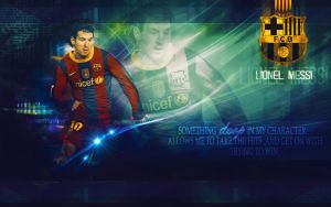 Lionel Messi - Wallpaper by DuyguPoyraz