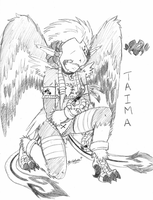 Taima - Detailed design sketch by sakura11
