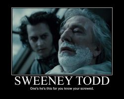 Sweeney Todd by TheClumseyHero