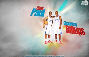 Chris Paul and Chauncey Billups by drgraphic