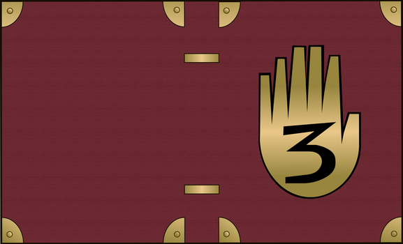 Gravity falls journal 3 vectorized - With texture by ShadTheKitsune