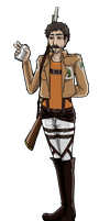 AH/AOT- Military Police Geoff Ramsey by notanotherzombie