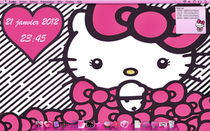 Hello Kitty Big Bow Theme Mac by LadyPinkilicious