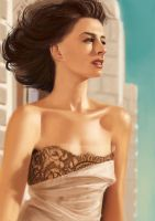 Anne Hathaway by Andes-Sudo