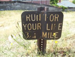 Run for Your Life by a-sea-person