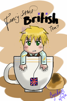 Fancy some British tea? by Cyndyrellah