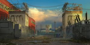 Electric Substation Concept by e-will