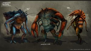 Crustacean Soldiers - Undressed by freakyfir