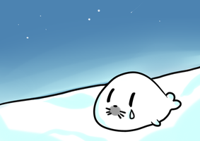 Tear of a Harp Seal by OCTISquad