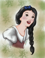 Disney Snow white - long hair by CherryIsland