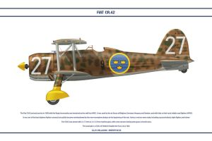 FIAT CR42 Sweden 1 by WS-Clave