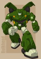 Bulkhead Animated G1 color by bokuman