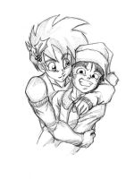 Merry Christmas from Celari and Olivo! by Rider4Z