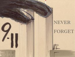 NEVER FORGET 9-11 by Jepray