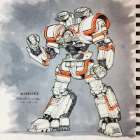 Matsumoto-14 (Achilles) from Jobot Jox by Mecha-Zone