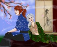 Prize: Ray and Shigerou by Ameretty