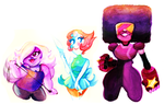 We are the Crystal Gems by Zamiiz