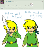 Ask Skyward Link and Wind Link 286 by LinkofSkyWind
