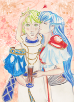 Elice X Merric by X-Tidus-kisses