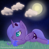 nighttime dew by tofuudog