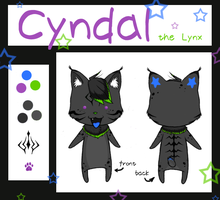 :: Cyndal Chibi Ref :: by LaughingSquid