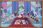 Canterlot Wedding Party Poster by PixelKitties