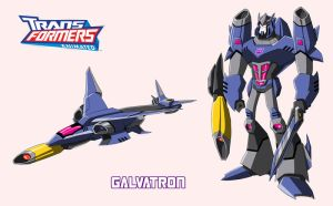 TFA GALVATRON by cheetor182